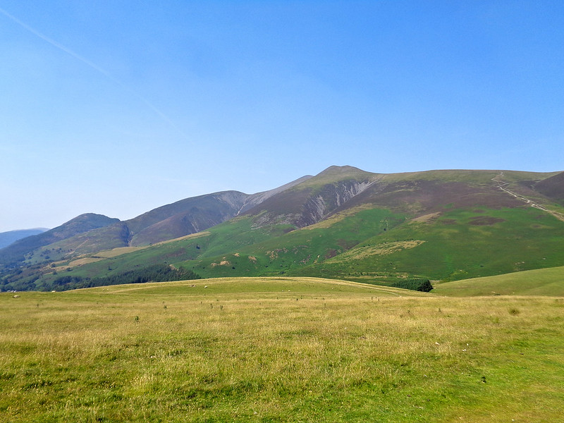 The Skiddaw range from Latrigg