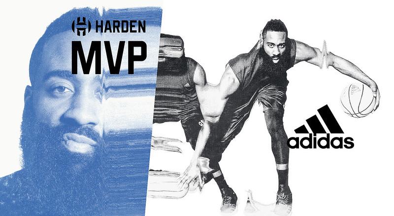 「大鬍子」James Harden即將來訪台灣。(adidas提供)