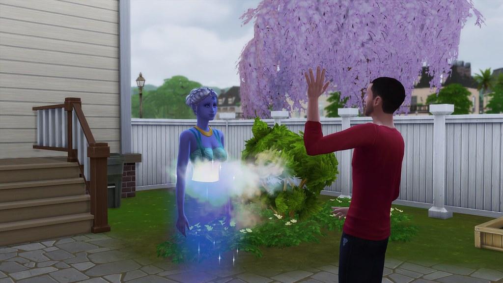 Mod destacado: genio en Los Sims 4