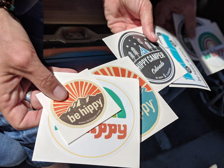Stickergiant be hippy stickers 2018 blog 5 by stickergiant