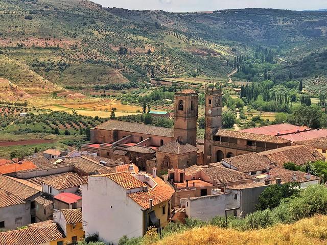 Alcaraz (Albacete). Vistas desde el castillo.