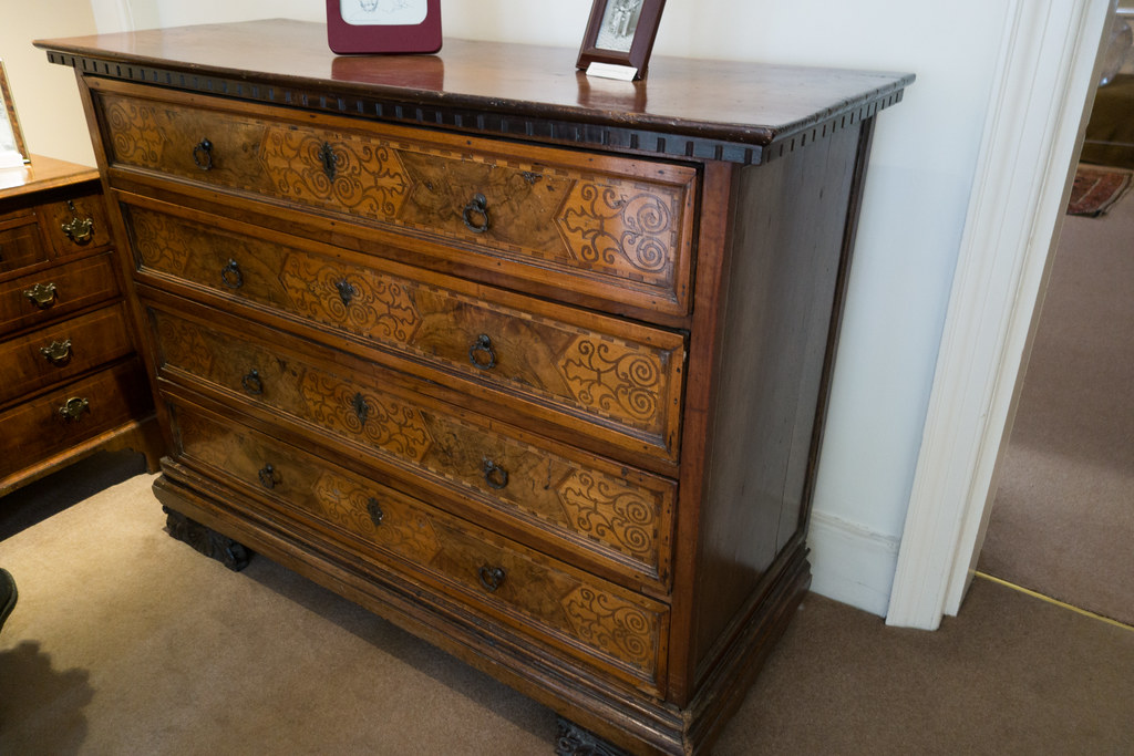 Commode With Marquetry At Freud House Freud House London Flickr