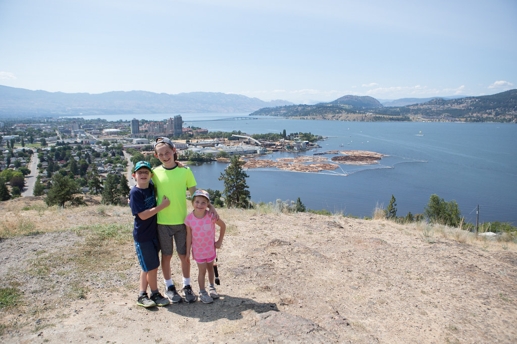 Paul's Tomb trail in Kelowna