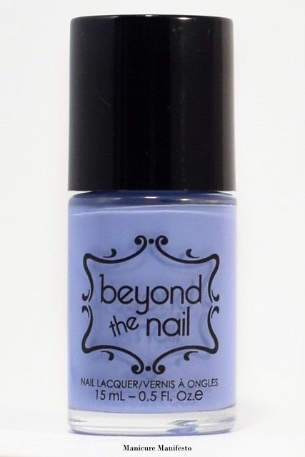 Beyond The Nail Popping Periwinkle review