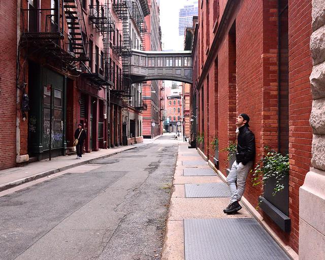 Calle Staple de Nueva York, una de las calles más chulas de la ciudad