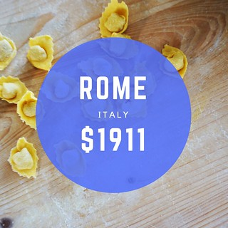 Rome Italy $1911 mo