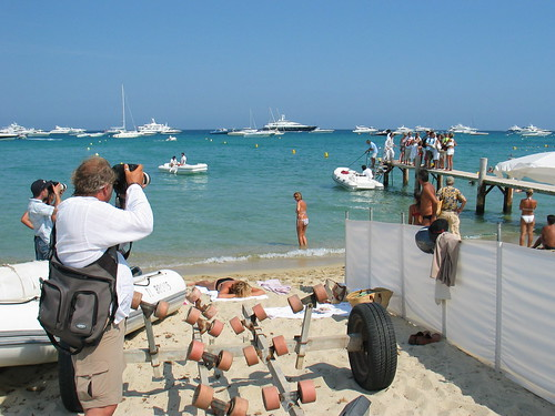 Tommy hilfiger arriving at pampelonne beach at club 55 sai flickr - Club 55 st tropez ...