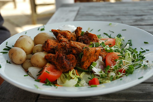 Chicken Tikka Salad | Shaolin Tiger | Flickr
