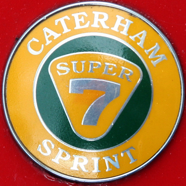 CATERHAM SPRINT SUPER 7 - Car Badge