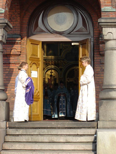 Entrada de la catedral