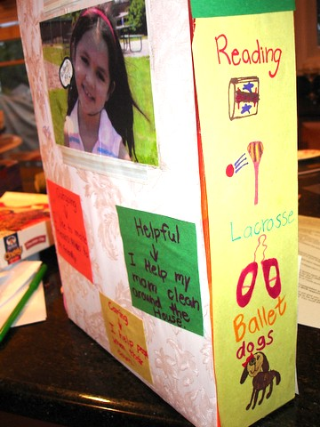 cereal box projects