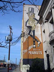 Planters Peanuts, ghost sign | by jericl cat