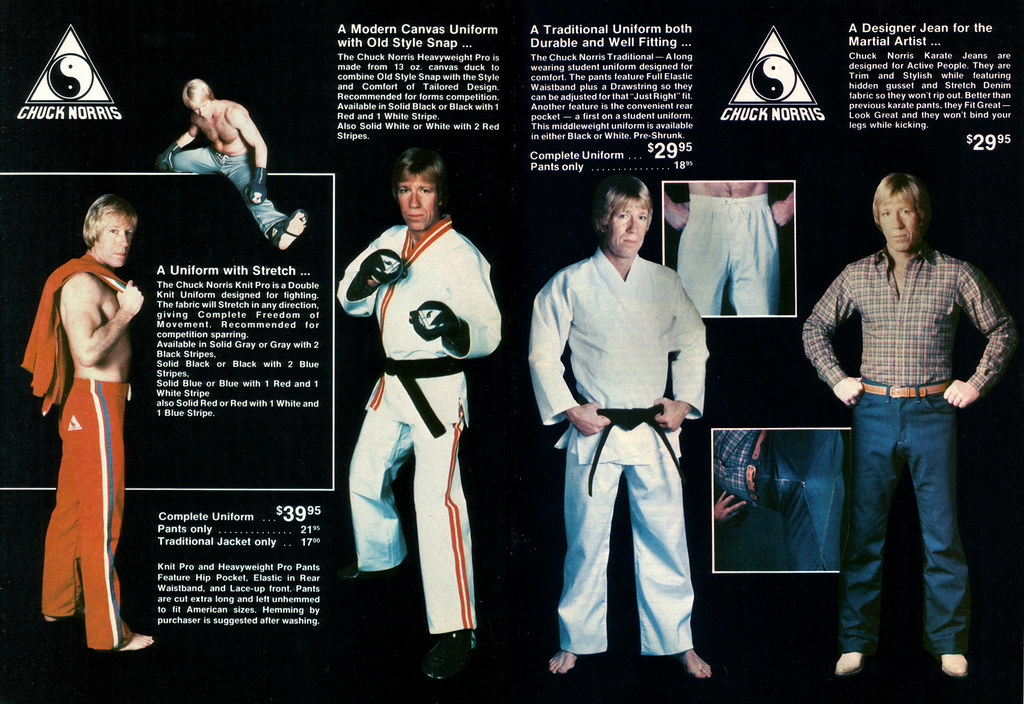 the Chuck Norris catal...