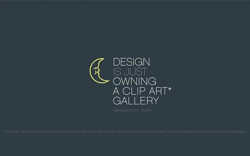 Design is just owning a clip art gallery* | by Veerle Pieters