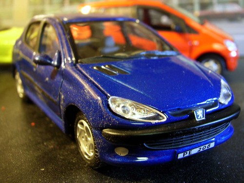 Hongwell 1 43 Scale Peugeot 206 Recently I Had Been