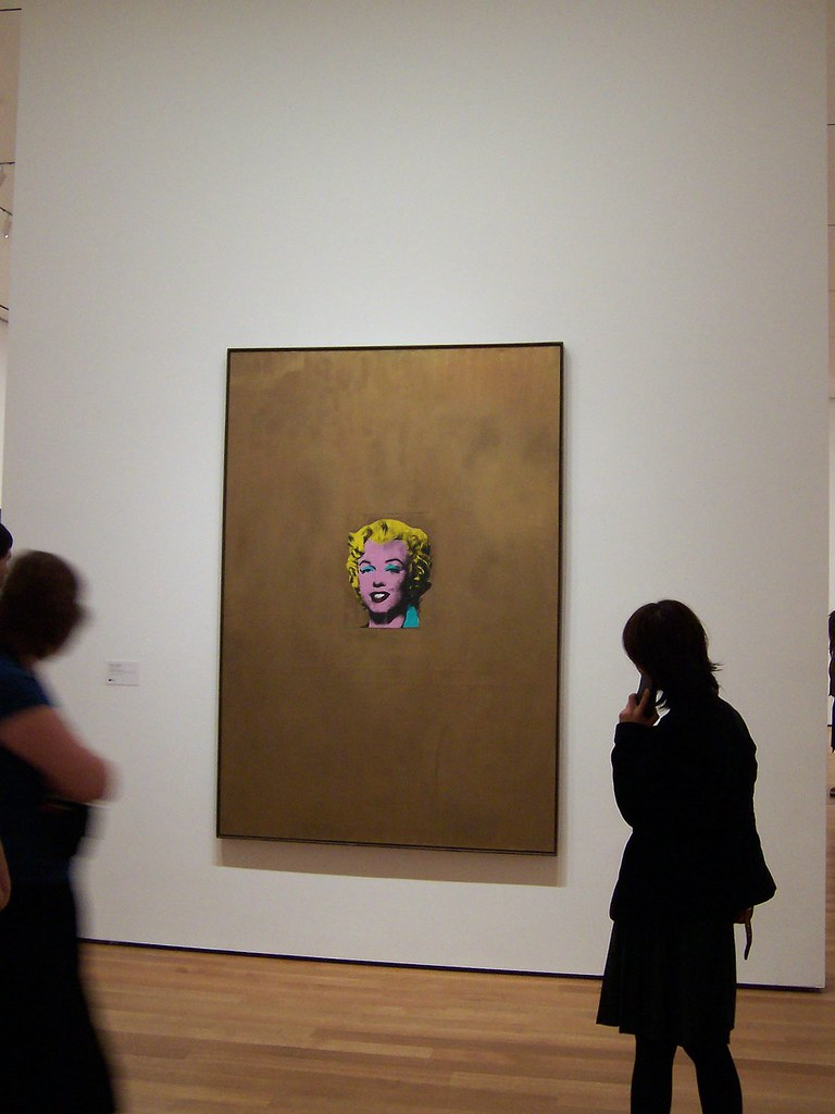gold marilyn monroe andy warhol Gold marilyn monroe (1962) by andy warhol silkscreen ink on synthetic  polymer paint on canvas warhol produced a series of works honoring monroe  soon.