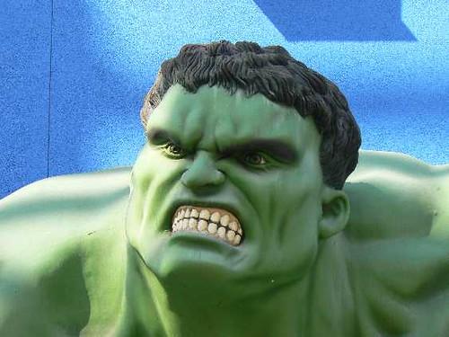 Hulk Angry Face