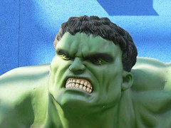 Hulk Up Close And Personal: 09/10/06 | by kiwanja