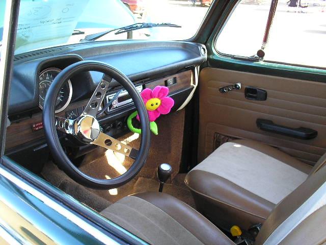 '73 Super Beetle, interior   Len Cleavelin   Flickr