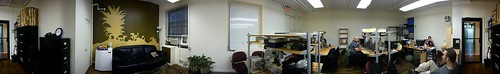 Panorama of CoworkingNYC @ EastMedia | by noneck