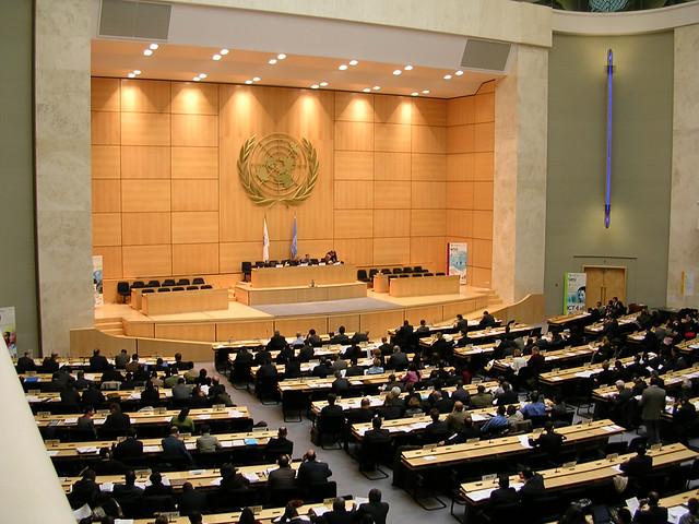 UN Geneva   A UN meeting taking place for WSIS precom I ...