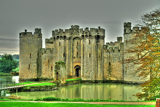 Bodiam Castle Sussex England Hdr Image 7 Shots At