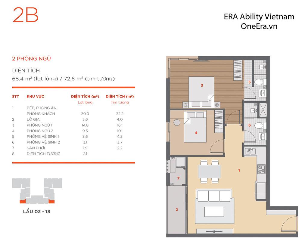 Mặt bằng tầng và thiết kế căn hộ Hausneo 48