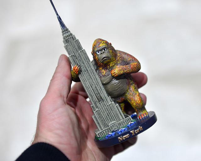 Souvenir del Empire State con King Kong