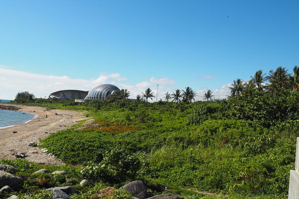 後灣陸蟹棲地完整而不受人為干擾,是墾丁重要的陸蟹基因庫。攝影:李育琴