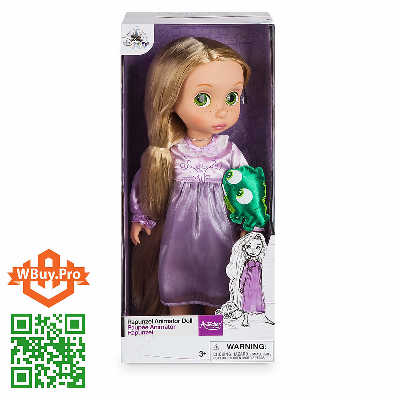 Búp bê Disney Rapunzel 40cm - Disney Animators