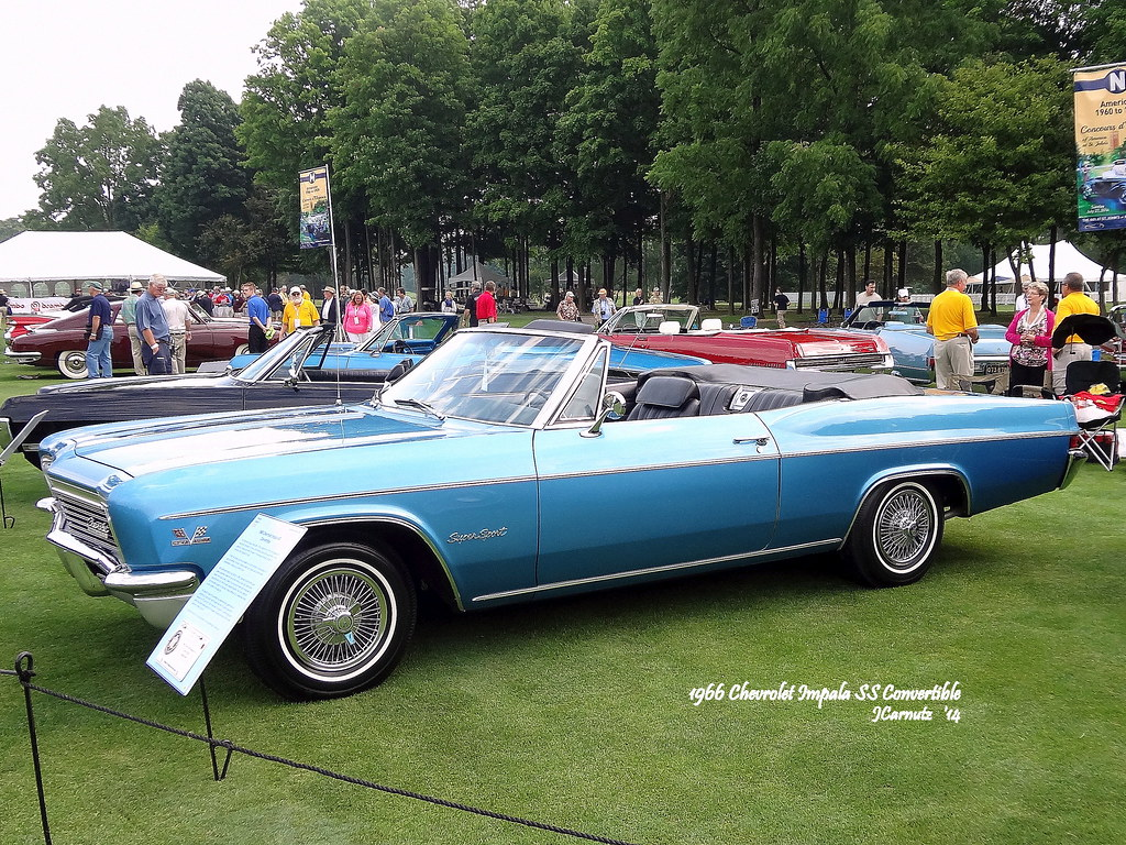Diecast Car Forums Pics 2014 Concours Delegance Of America Pt 3 1966 Chevy Impala Ss 427 1967 Chevrolet Convertible