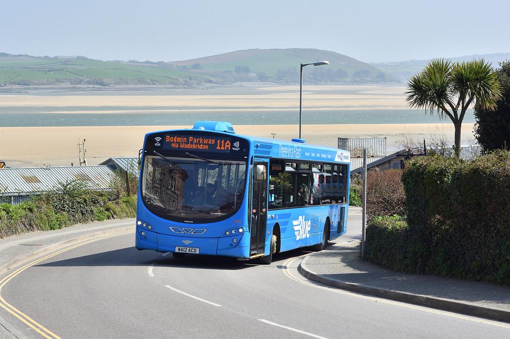 Go Ahead Plymouth Citybus Wa12 Aco 101 Padstow Stat