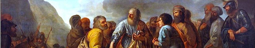 Иофор советует Моисею назначить судей.