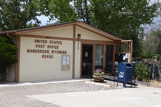 Manderson, WY post office | by PMCC Post Office Photos