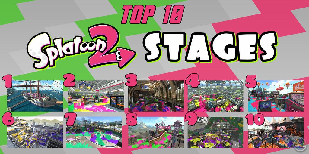 top 10 splatoon 2 stages top 10 week 2018 keeps rollin on flickr