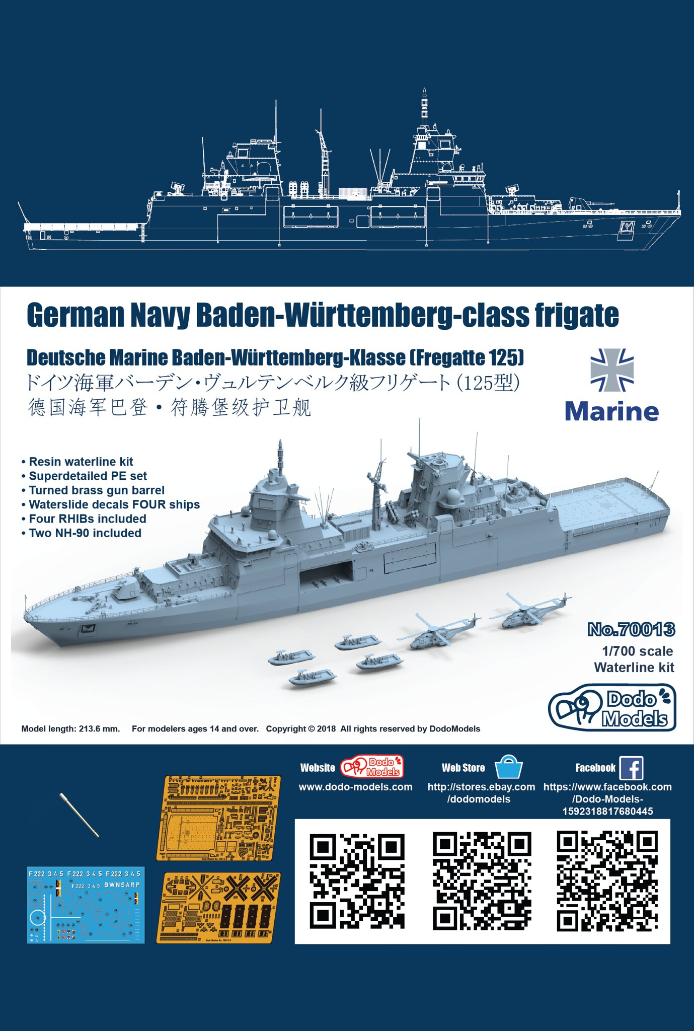 The Ship Model Forum • View topic - DodoModels 70013 1/700 German