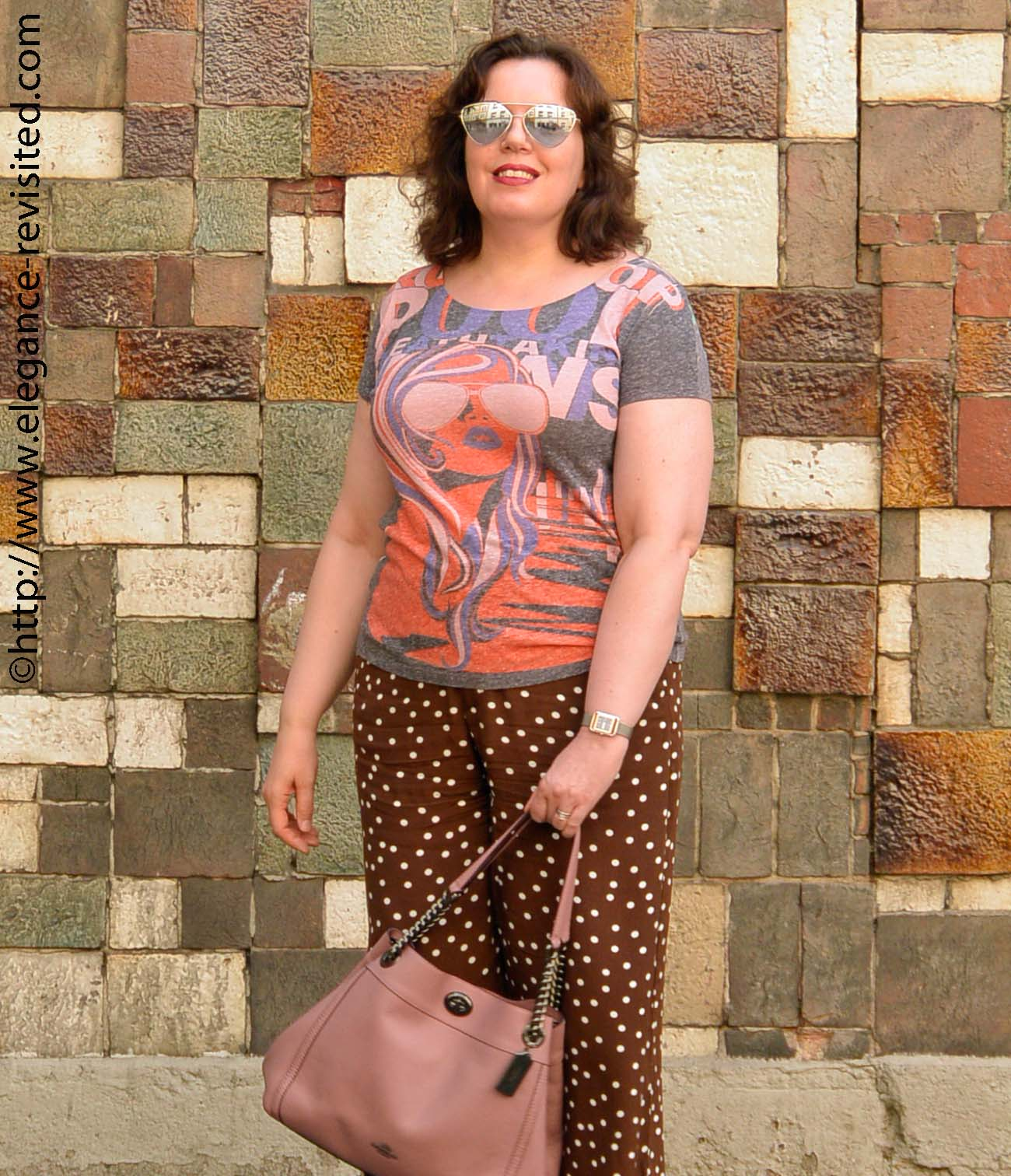 graphic tee over 40