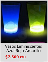 Vasos Luminosos Fiesta