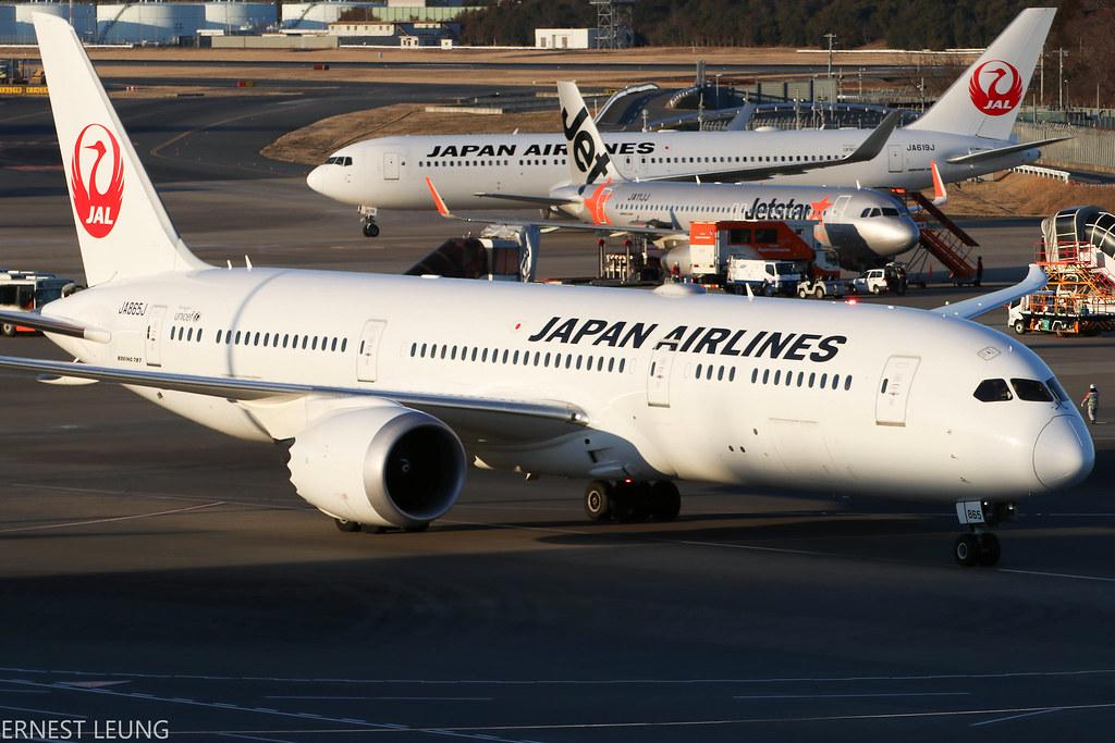 Japan Airlines 787-9 JA865J ~ RJAA   Ernest Leung   Flickr
