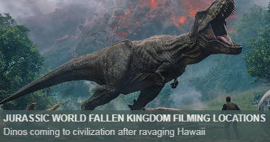 Where was Jurassic World Fallen Kingdom filmed