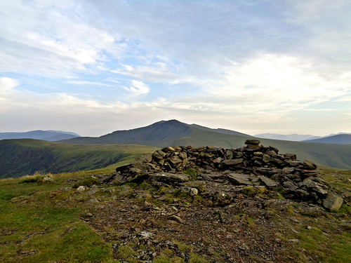 Bowscale Fell - Blencathra in the background