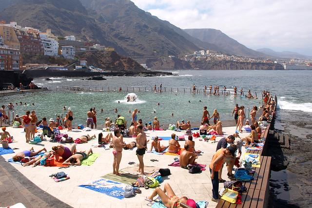 Punta del Hidalgo, summer, Tenerife