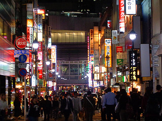 Shibuya by night 80 | by worldtravelimages.net