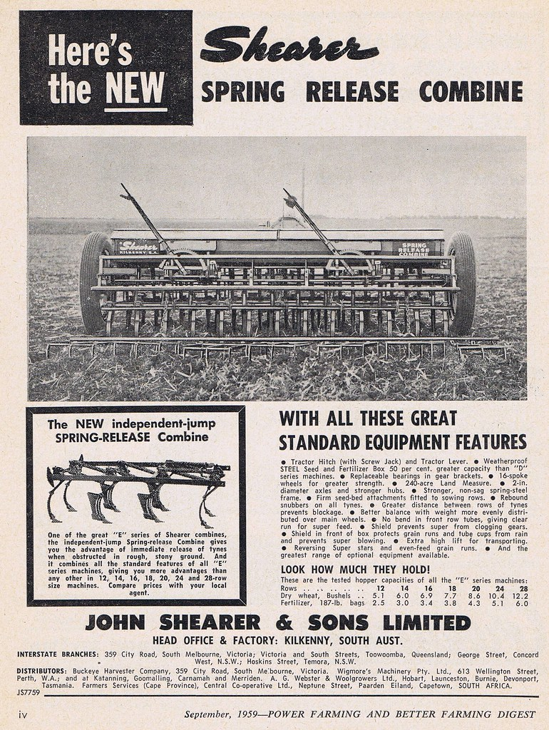 Shearer combine 1959   by Runabout63 Shearer combine 1959   by Runabout63