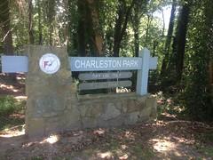 Charleston Park Sign