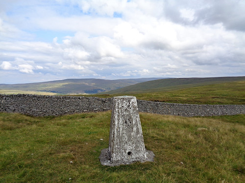 Trig pillar on Horse Head Moor