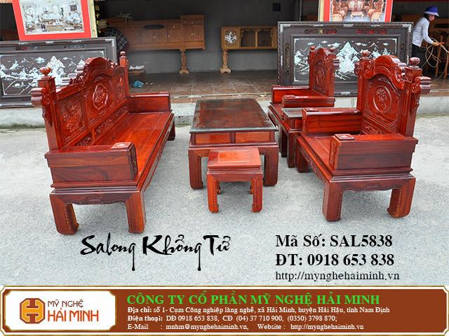 SAL5838a Salong Khong Minh do go my nghe hai minh
