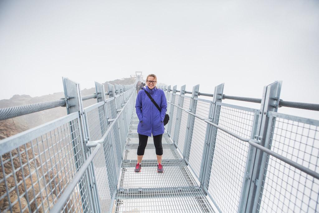 Peak Suspension Bridge in Whistler, B.C.