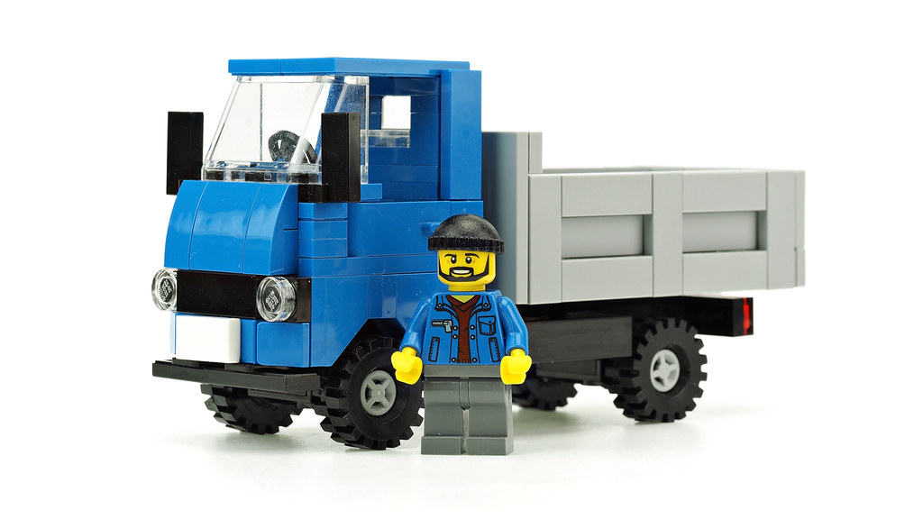Blue Dump Truck Building Instructions Youtu23 P6s Gga De