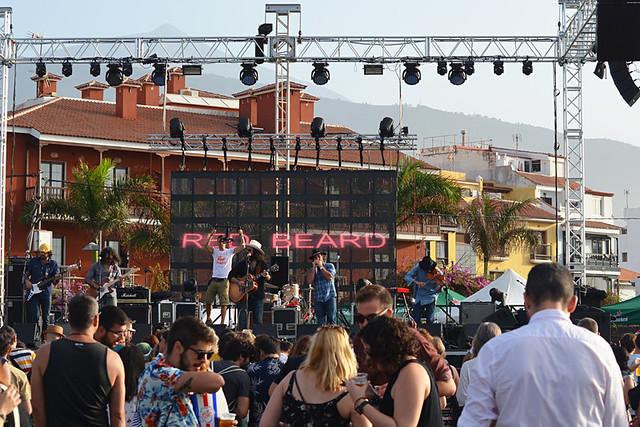 Phe music festival, Puerto de la Cruz, Tenerife